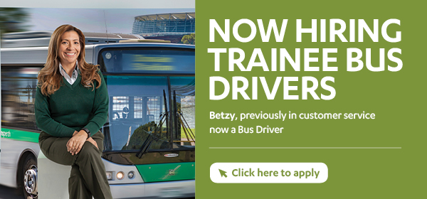 Now hiring trainee bus drivers