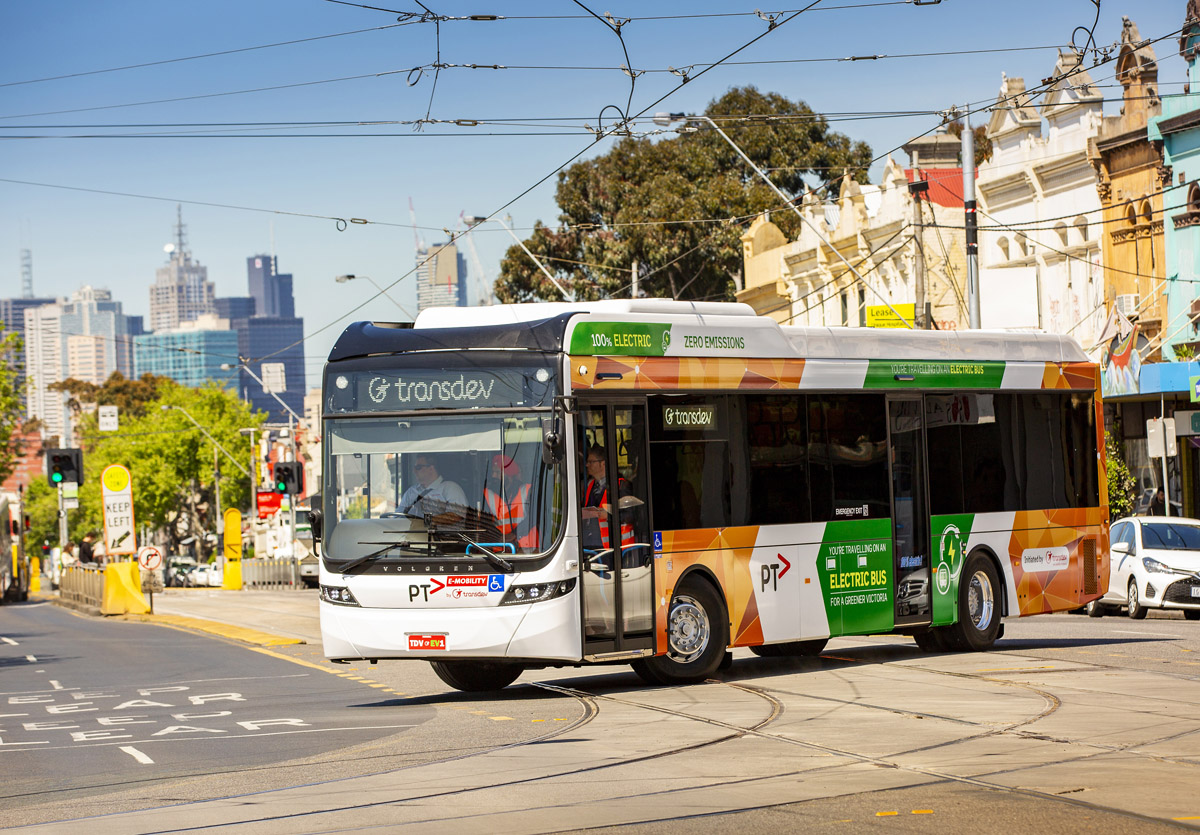 Media release: First Victorian Built Electric Bus To Hit The Road
