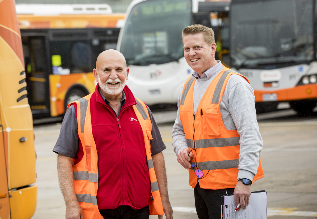 Supporting older workers in the transport industry
