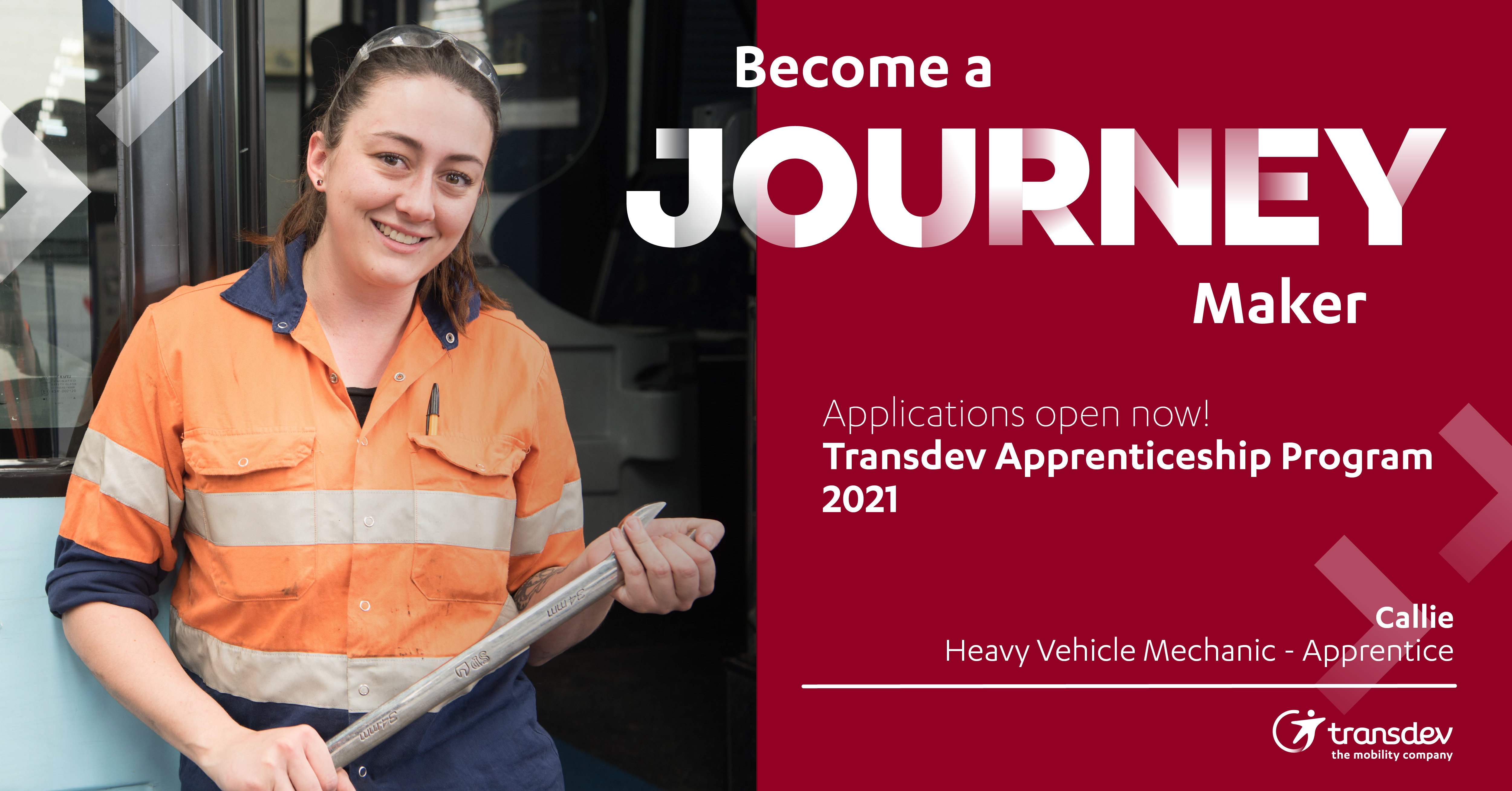 2021 Apprenticeship Program – make a difference to your community