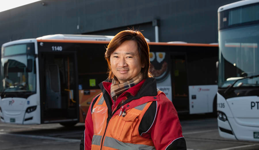 From the assembly line to the frontline: saying thank you to transport staff