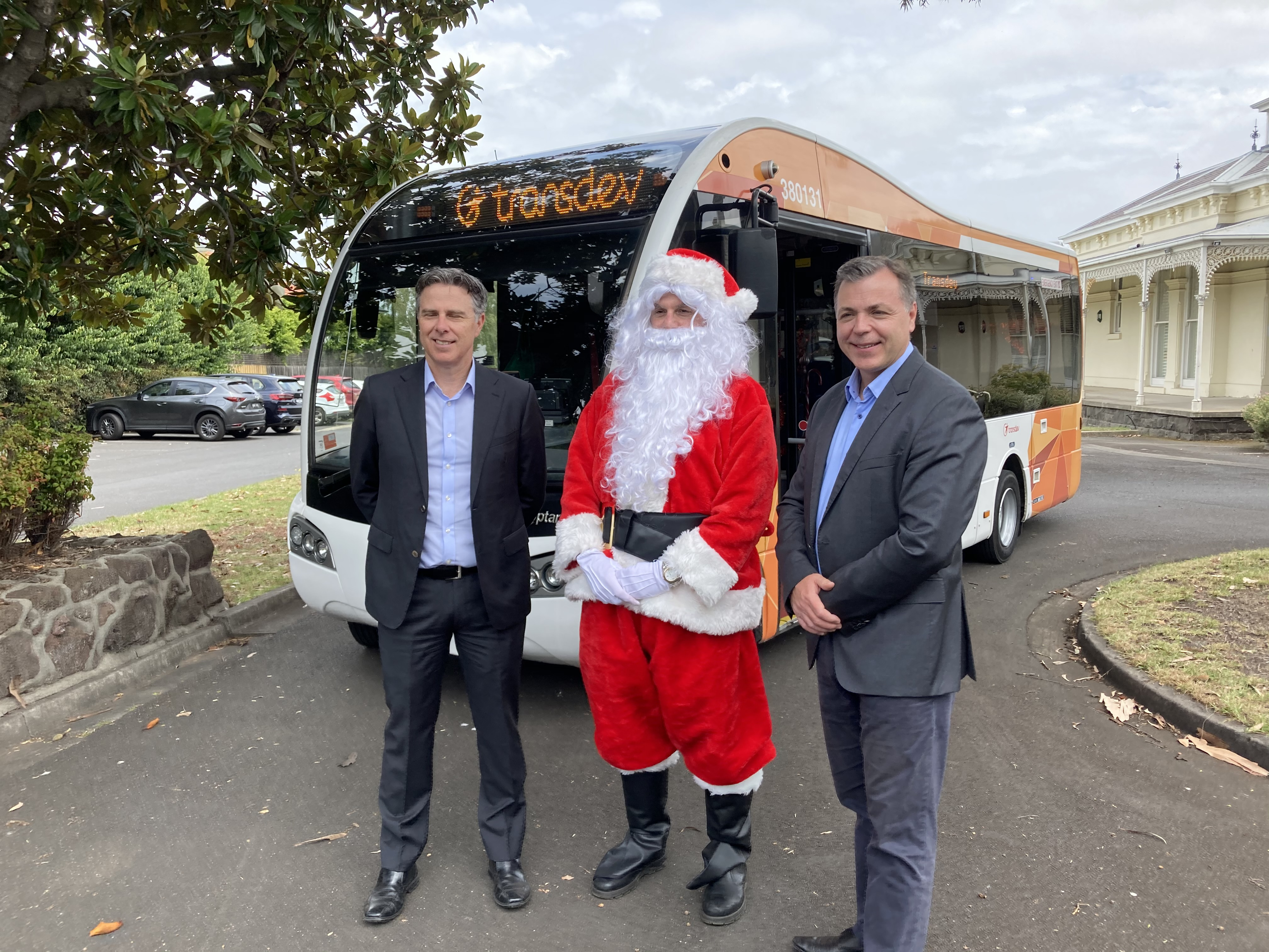 Santa and Transdev team up to spread Christmas cheer to some Very Special Kids
